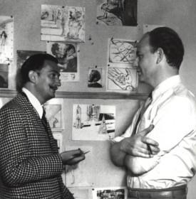 john Hench y Dali