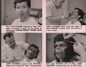 maquillaje planeta simios