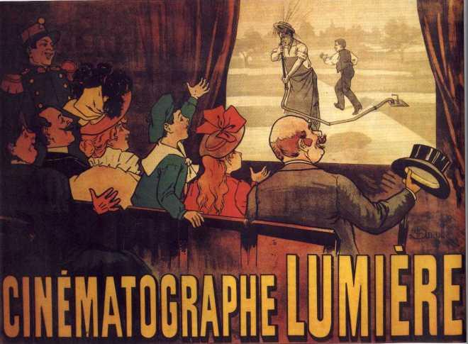 primer cartel de cine del mundo
